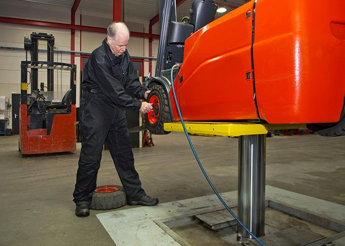 Réparation et entretien de chariots élévateurs en Haute-Loire